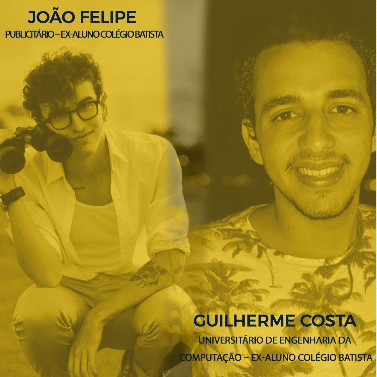 João Felipe e Guilherme Costa ex-alunos do Colégio Batista participam do Projeto Dica do Especialista