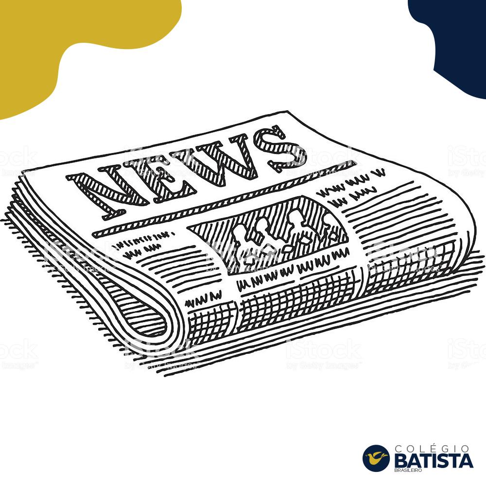 Exemplares de jornais e revistas foram os resultados dos trabalhos do Projeto de História desenvolvido pelos alunos do Ensino Fundamental e Médio